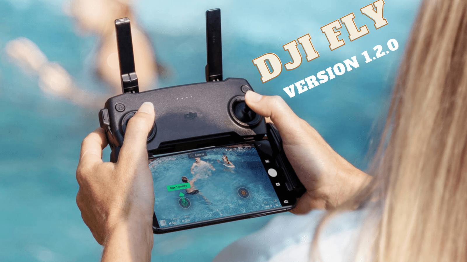 Приложение DJI Fly получило обновление после выхода Mavic Mini 2.