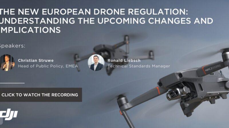DJI drone regulation