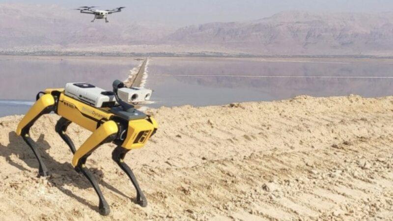 Spot-Percepto-drone