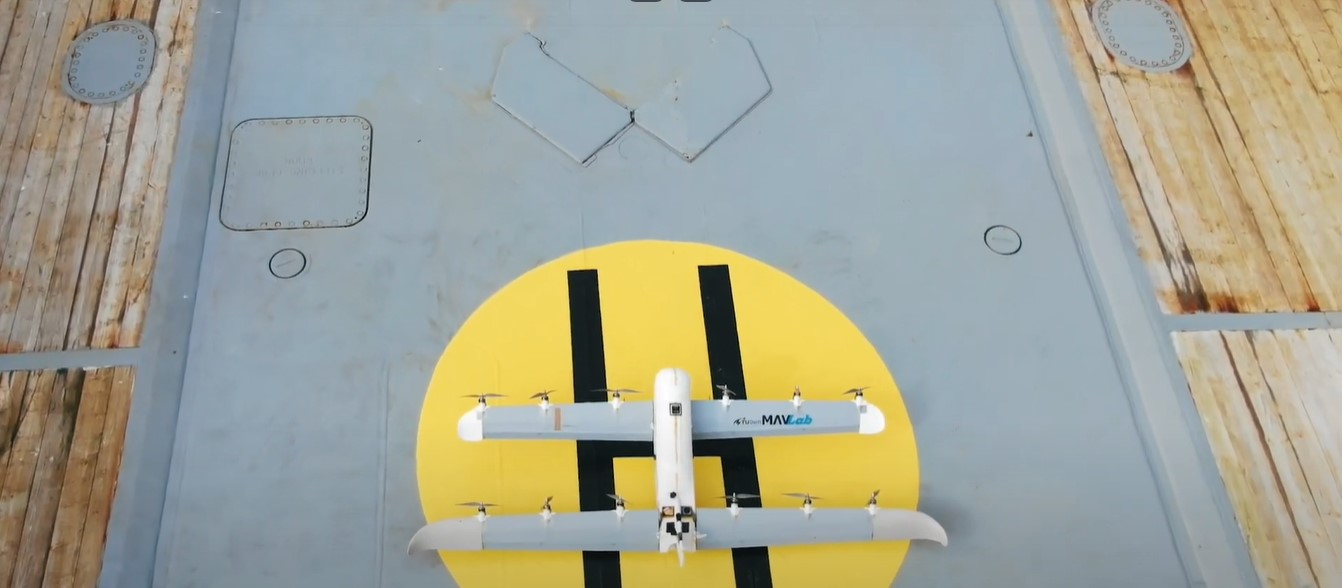 Водородный дрон Голландии провёл успешные испытания.