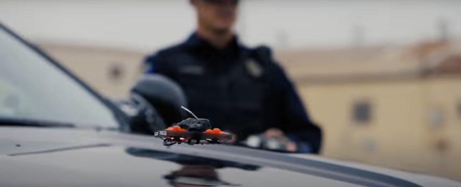 Полиция использует Cinewhoop Fpv для борьбы с преступниками в США