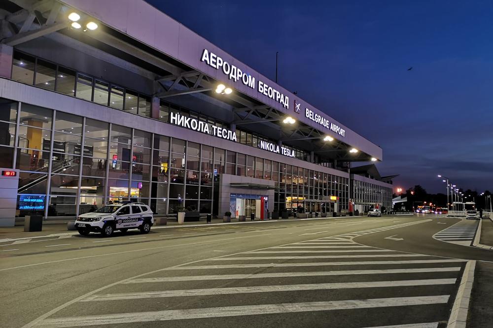 В аэропорту Белграда установили противодронную систему.