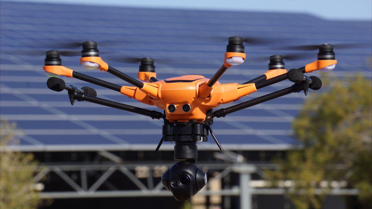 Компания Sky Drone присоединилась к программе Nvidia по разработке AI для дронов.