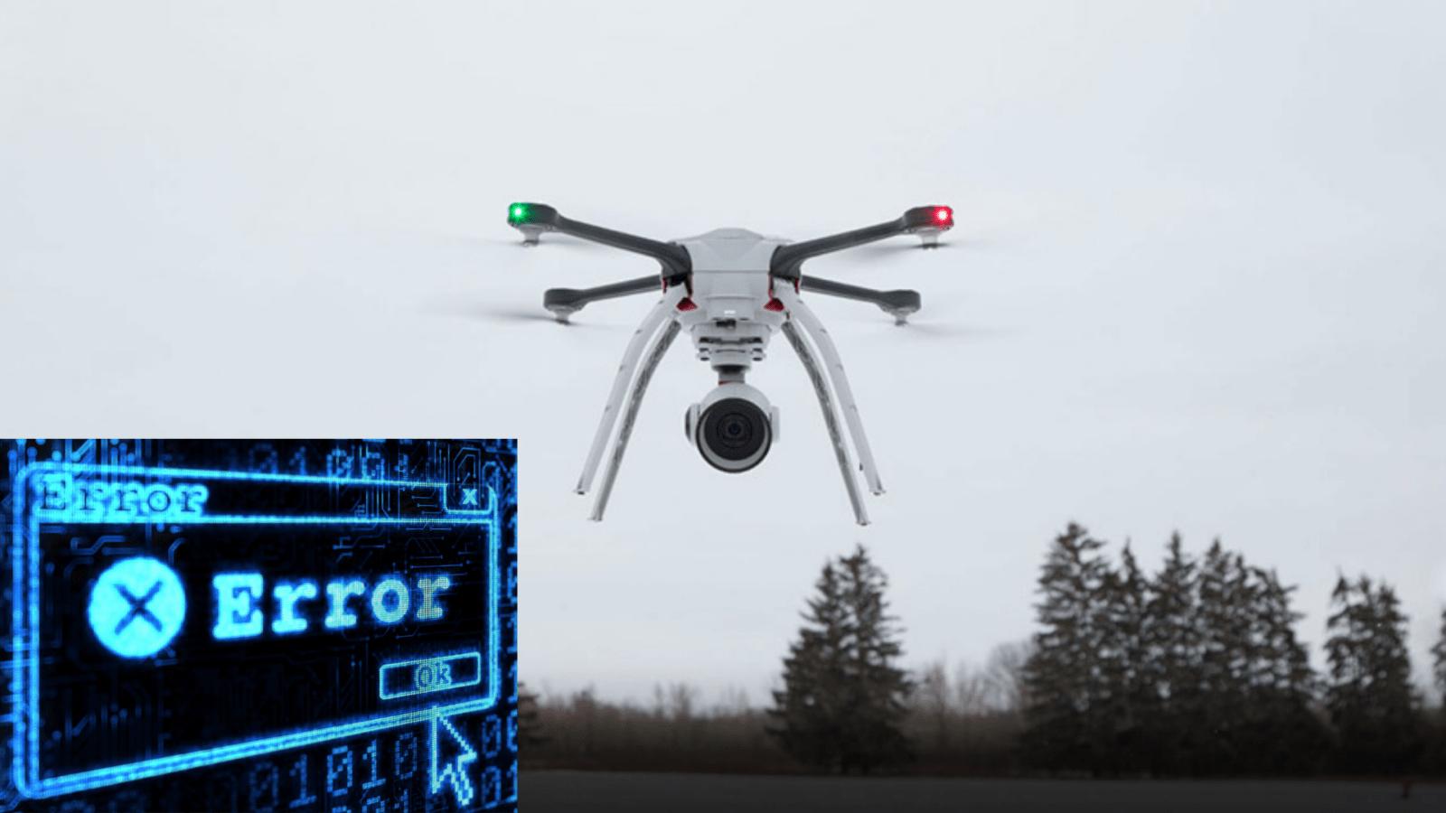 Пилот квадрокоптера случайно нажал кнопку и уничтожил дрон за 85 000 долларов.