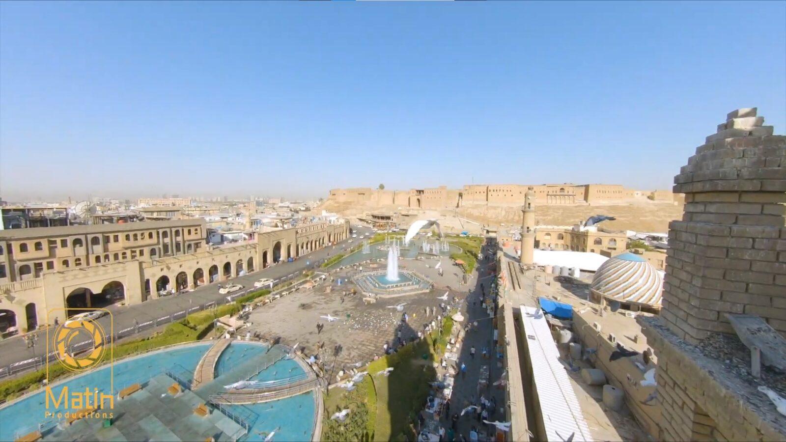 Пилот FPV дрона снял красивое видео в Ираке.
