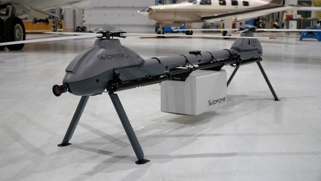 Avidrone Aerospace намерена продемонстрировать свой двухроторный дрон 210TL на выставке IDEX 2021.