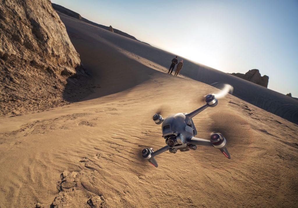 FPV дрон DJI изменит ваше представление о полётах