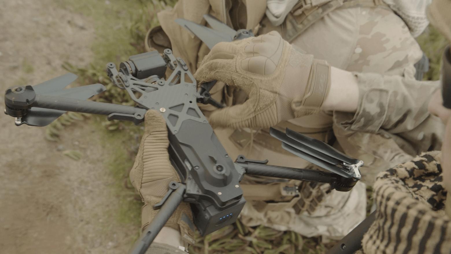 Skydio доставит первую партию квадрокоптеров армии США.
