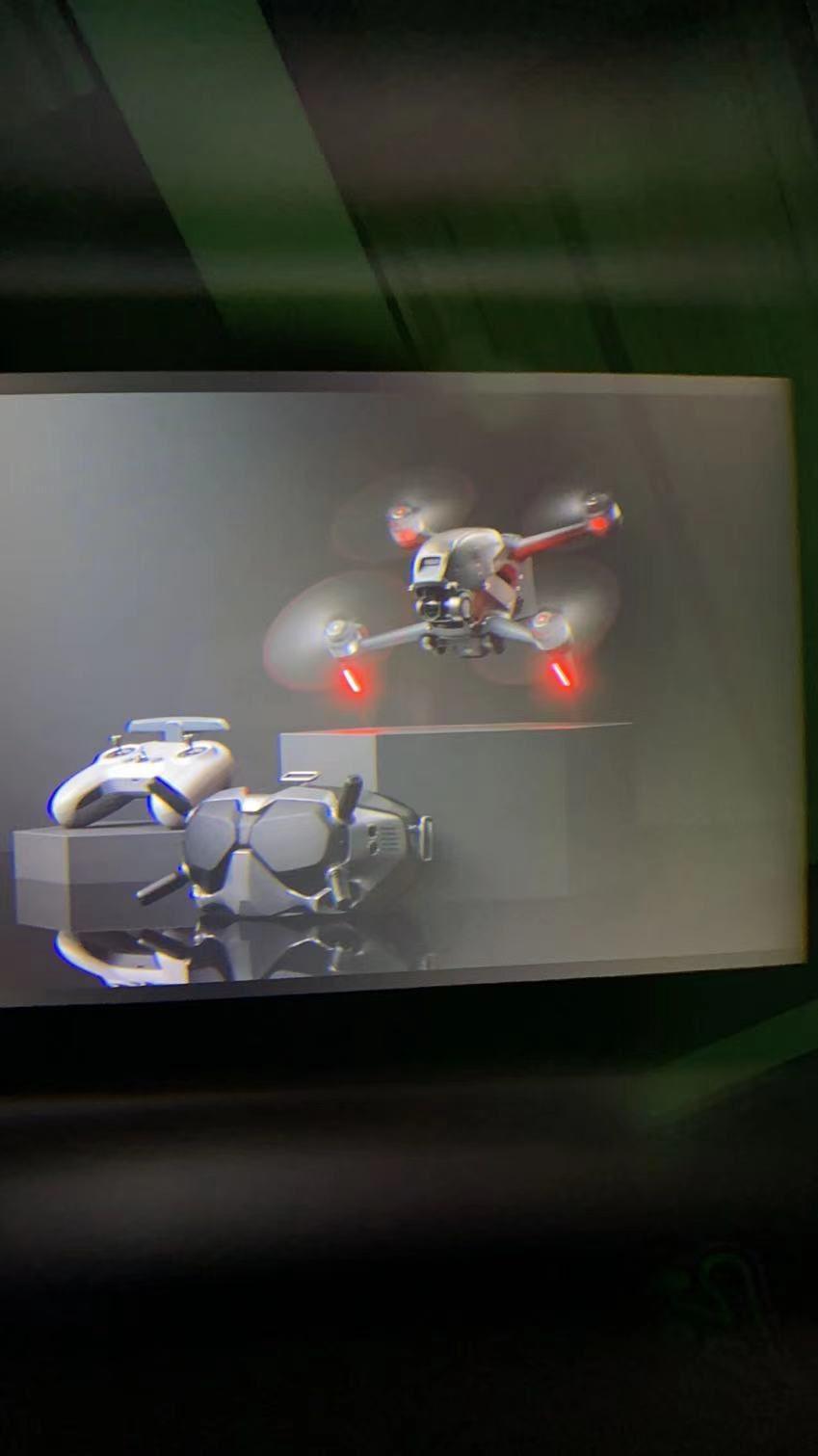 Новое «официальное» фото квадрокоптера DJI FPV в Twitter.