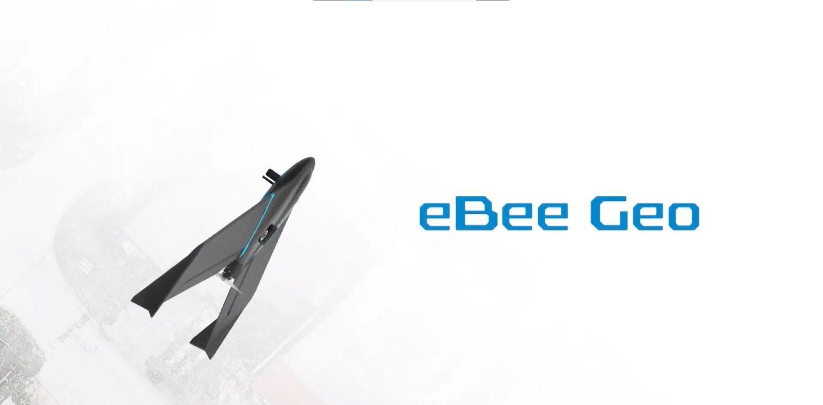 Новый дрон eBee Geo от senseFly оценен в 10 тысяч долларов.