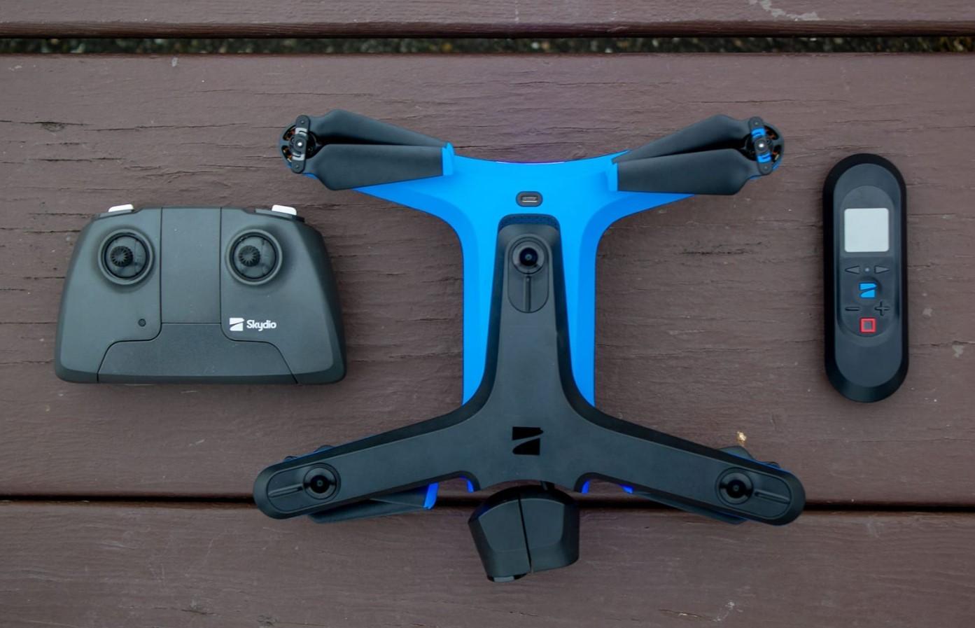 В Северной Каролине впервые осмотрели мост дронами Skydio 2
