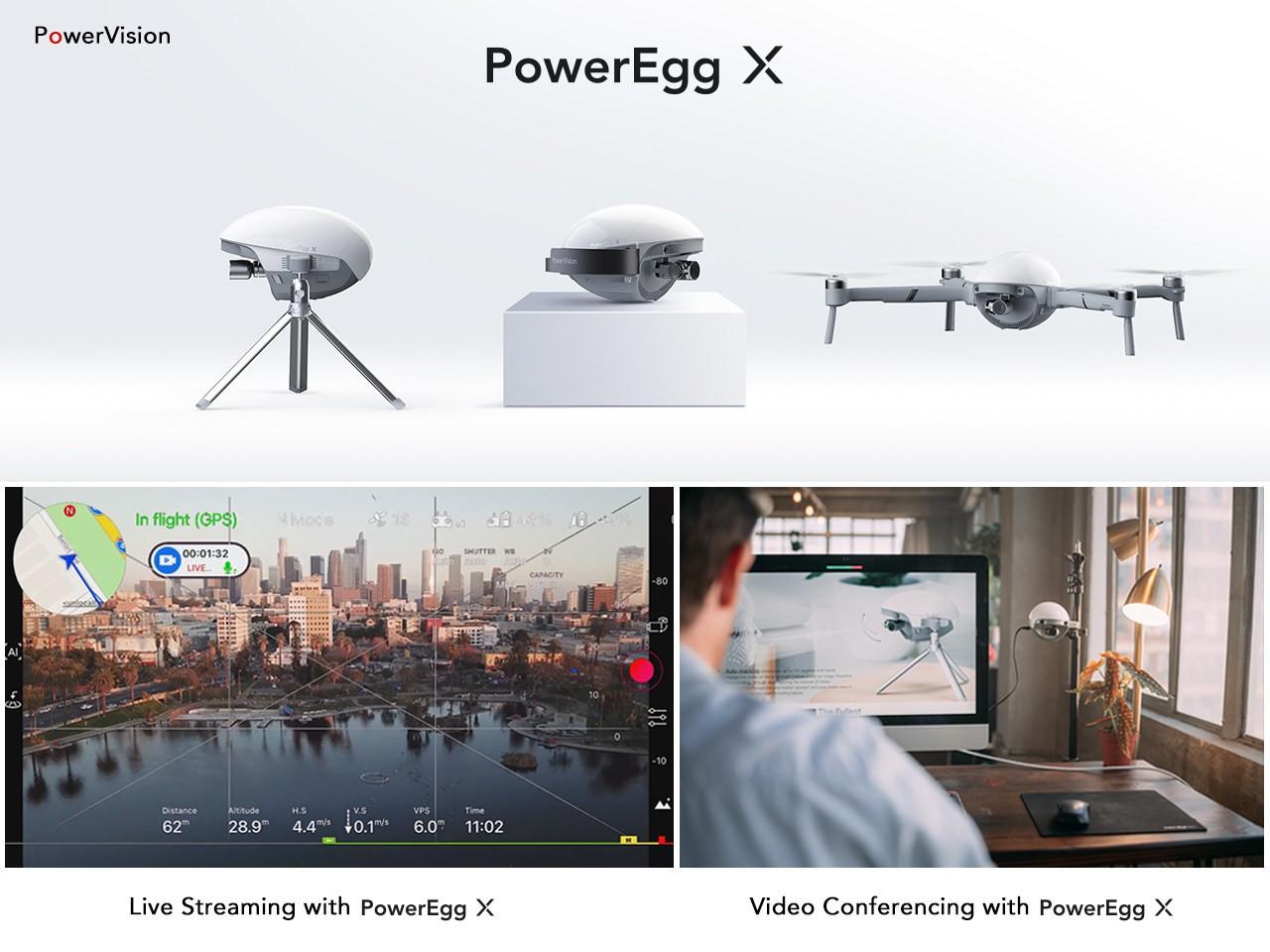 PowerVision выпустила обновление для своего дрона PowerEgg X