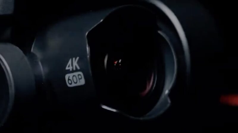 Съёмка видео в 4к60 на новом FPV дроне DJI