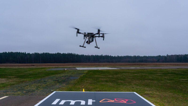 LMT работает с Dimetor над интеграцией дронов в воздушное пространство VLL