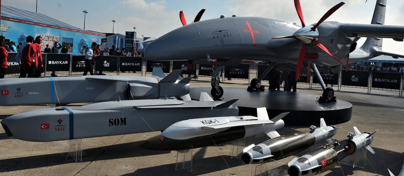 Турецкий производитель беспилотников Baykar Defense успешно провёл испытания нового БЛА AKINCI