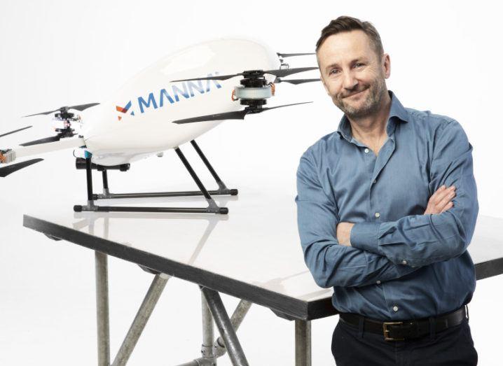 Ирландский стартап по доставке грузов дронами получил $25 млн на развитие в США и принял на работу ветерана Wing