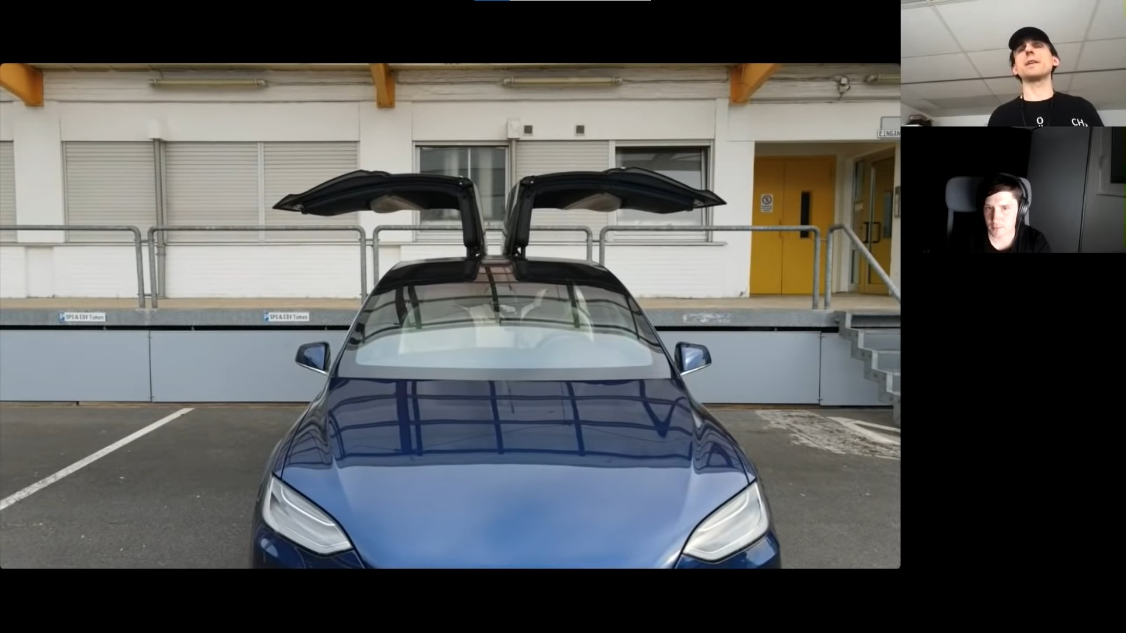Немецкие пилоты сняли на видео взлом автомобиля Tesla с помощью дрона