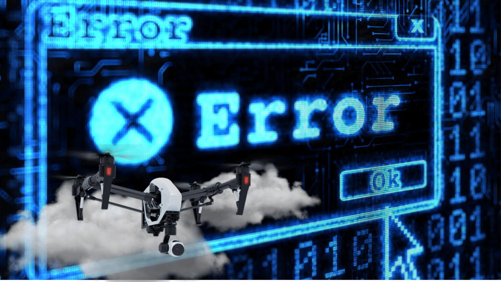 Падение сотен дронов на шоу в Китае