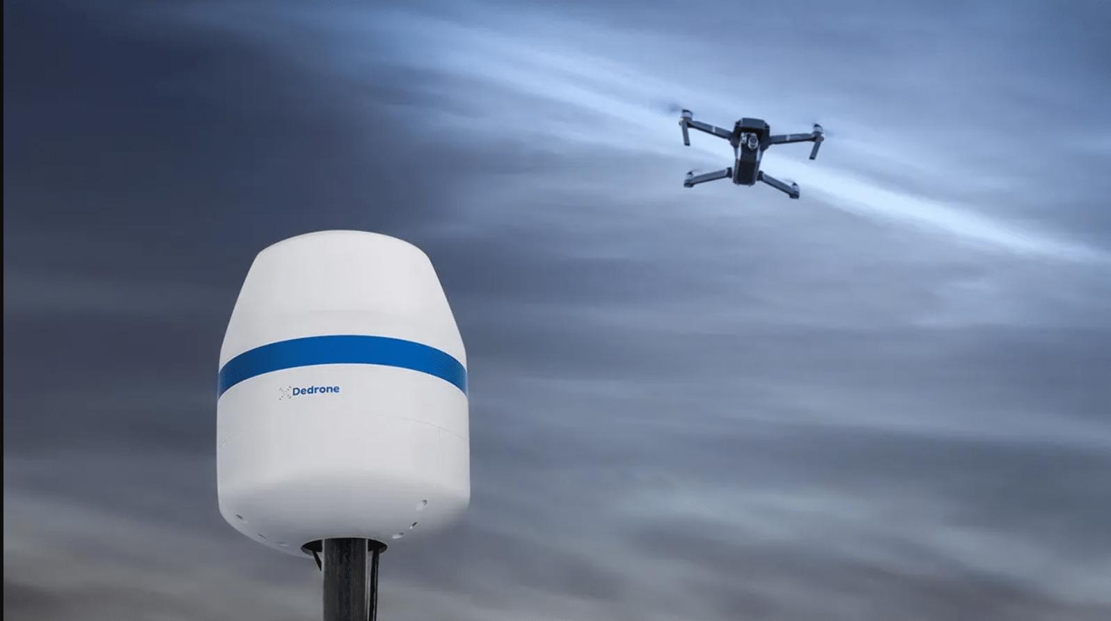 Компания Dedrone объявила о росте продаж систем обнаружения дронов