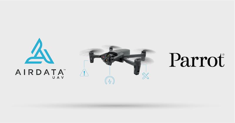 Сотрудничество Parrot и AirData