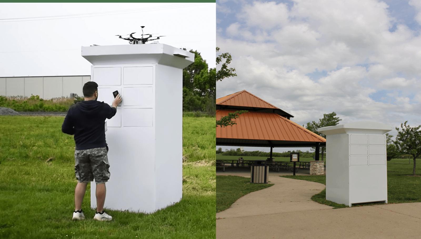 Компания Valqari создаёт почтовый ящик для посылок от беспилотника