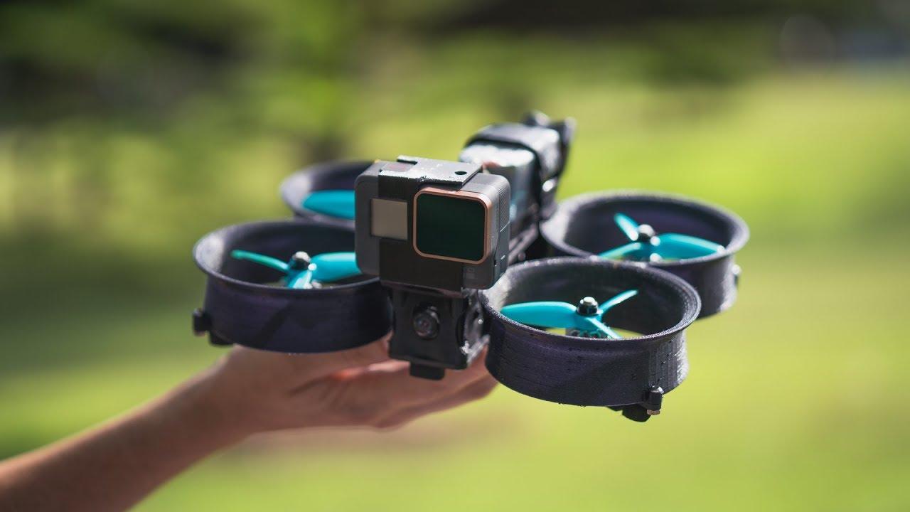 Использование дронов CineWhoop для бизнеса