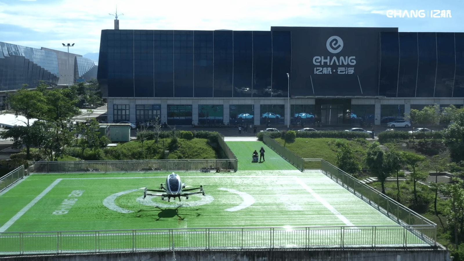 Оцените невероятный процесс производства беспилотных такси компании EHang