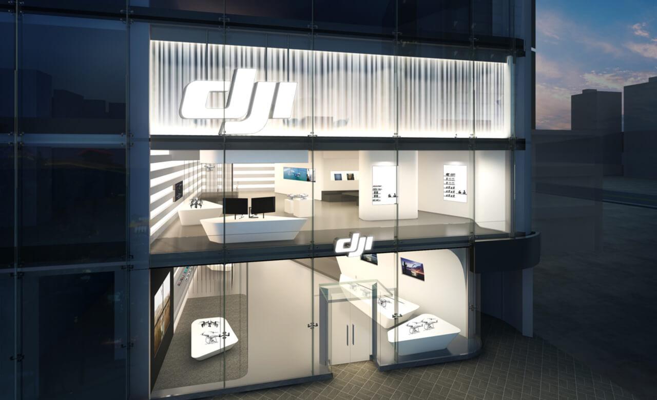 DJI закрывает свой крупнейший магазин в Гонконге 16 сентября